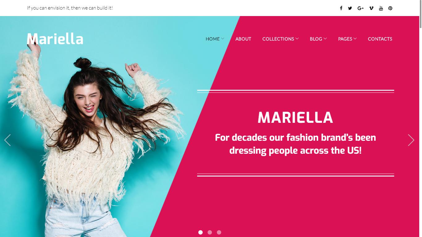 fashion theme by mariella